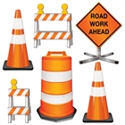 Road Crew Cutouts Assorted (6)