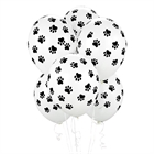Paw Print Latex Balloons (6)