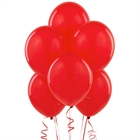 Red Latex Balloons (6)