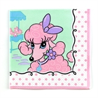 Pink Poodle in Paris Lunch Napkins (16)