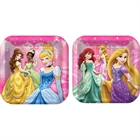 Disney Princess Party Square Dinner Plates