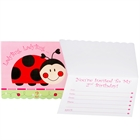 Ladybugs: Oh So Sweet 2nd Birthday Invitations (8)
