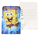SpongeBob Invitations (8)