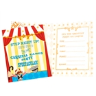 Carnival Games Invitations (8)
