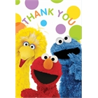 Sesame Street Party Thank-You Notes (8)