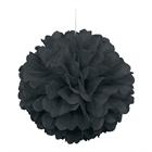 Black Hanging Puff Ball (1)