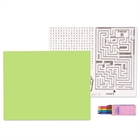 Lime Green Activity Placemat Kit for 4