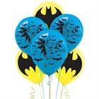 Batman Latex Balloons (6)