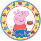 Peppa Pig Dinner Plates (8)