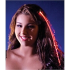 Red Light Up Hairclip