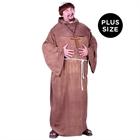 Medieval Monk Adult Plus Costume