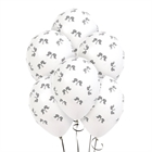 Racing Checkered Flag Latex Balloons (6)