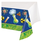 Mad Scientist Plastic Tablecover