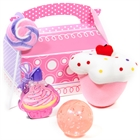 Sweet Cupcake Party Filled Favor Box