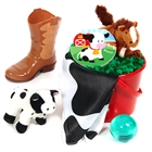 Barnyard Filled Party Favor Bucket
