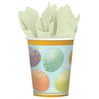 Golden Easter Paper Cups (8)