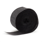 Black Crepe Paper Streamers
