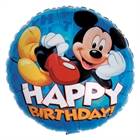 Disney Mickey Mouse Happy Birthday Foil Balloon