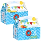 Pool Party Empty Favor Boxes (4)