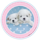 Glamour Dogs Round Activity Placemats (4)