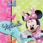 Disney Minnie Mouse Party Lunch Napkins (16)