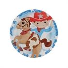 Cowboy Dessert Plates (8)
