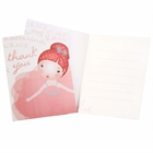 Ballerina Thank-You Notes (8)