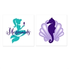 Mermaids Under the Sea Tattoos