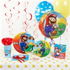 Super Mario Brothers Deluxe Party Pack