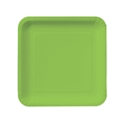 Lime Green Square Dessert Plates (18)