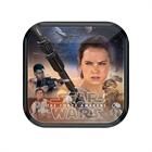 Star Wars VII Dessert Plates (8)