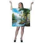 Bob Ross: Painting Tree Tunic Dress