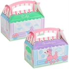 Pink Poodle in Paris Empty Favor Boxes (4)