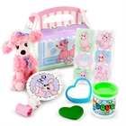 Pink Poodle in Paris 2nd Birthday Party Favor Box