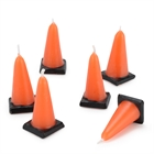 Construction Cone Molded Candles