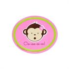 Pink Mod Monkey Stickers (4)