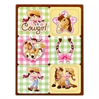 Pink Cowgirl Sticker Sheets (4)