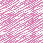 Bright Pink Zebra Striped Tissue Paper