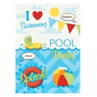 Pool Party Sticker Sheets