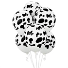 Cow Print Latex Balloons (6)