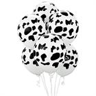 Cow Print Latex Balloons (6)
