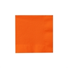 Orange Beverage Napkins (50)