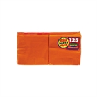 Orange Beverage Napkins (125)