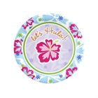 Hawaiian Girl Dessert Plates (8)