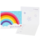 Rainbow Wishes Invitations (8)