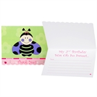 Ladybugs: Oh So Sweet 2nd Birthday Thank You Notes (8)