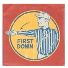 Football Game Time Lunch Napkins (20)