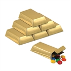 Foil Gold Bar Favor Boxes (12)