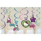 Hello Kitty Swirl Decorations (12)