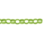 Lime Green Paper Chain Link Garland